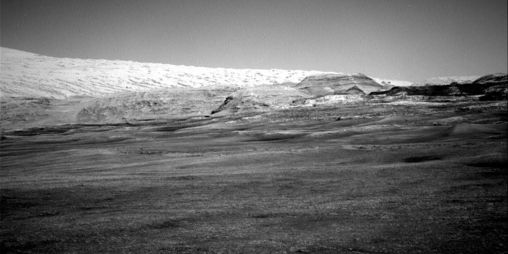 Nasa's Mars rover Curiosity acquired this image using its Right Navigation Camera on Sol 2399, at drive 1398, site number 75