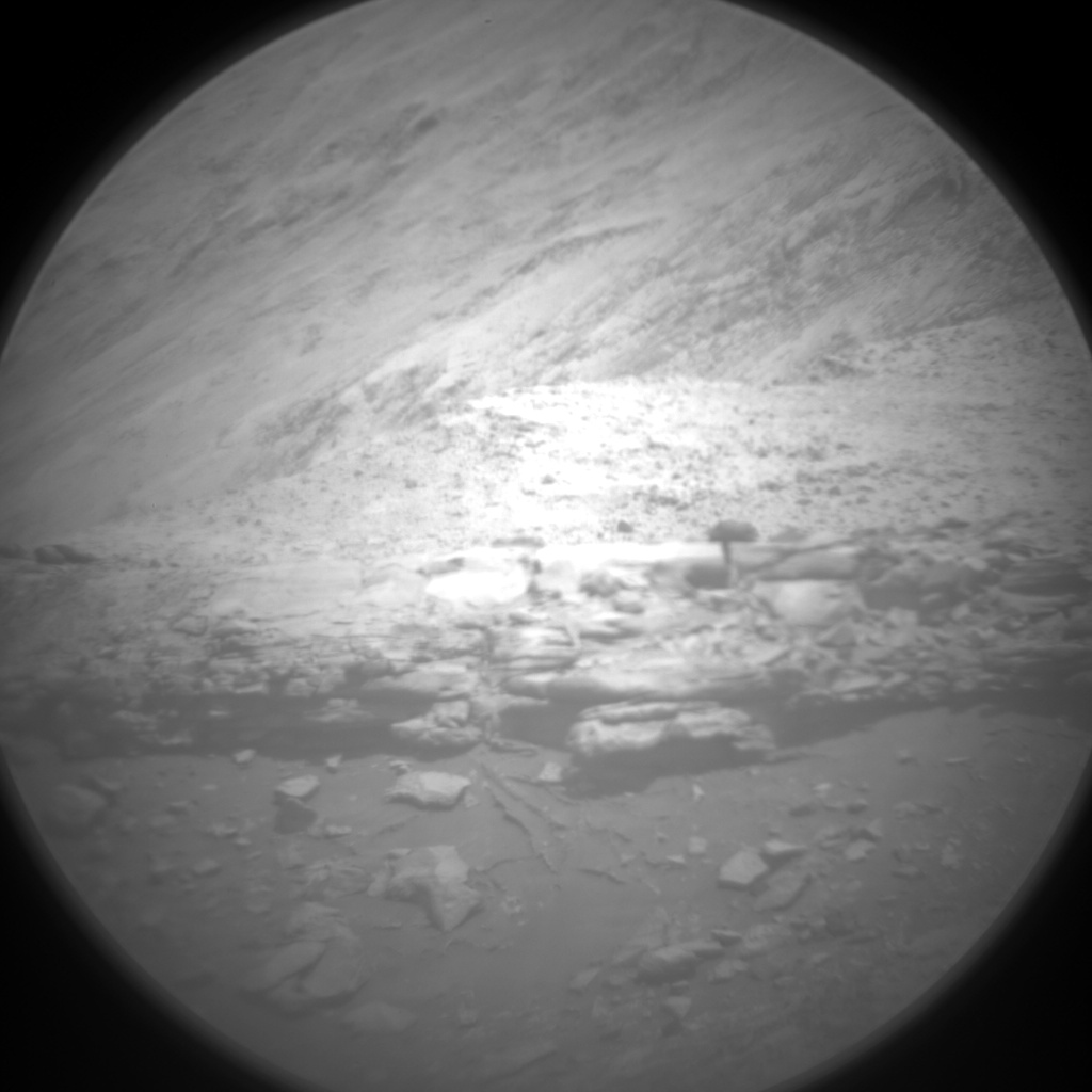 Nasa's Mars rover Curiosity acquired this image using its Chemistry & Camera (ChemCam) on Sol 2400, at drive 1398, site number 75