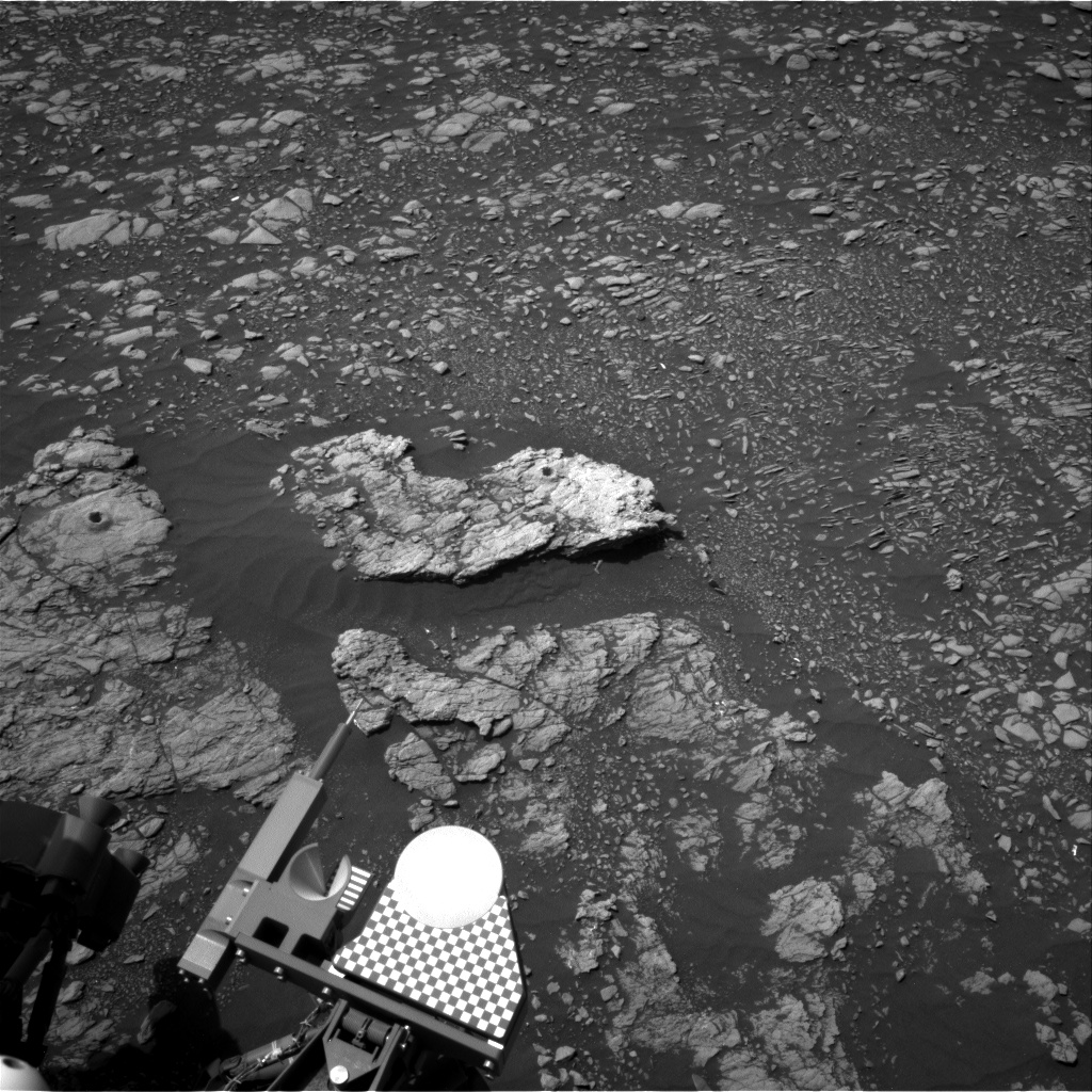 Nasa's Mars rover Curiosity acquired this image using its Right Navigation Camera on Sol 2401, at drive 1398, site number 75