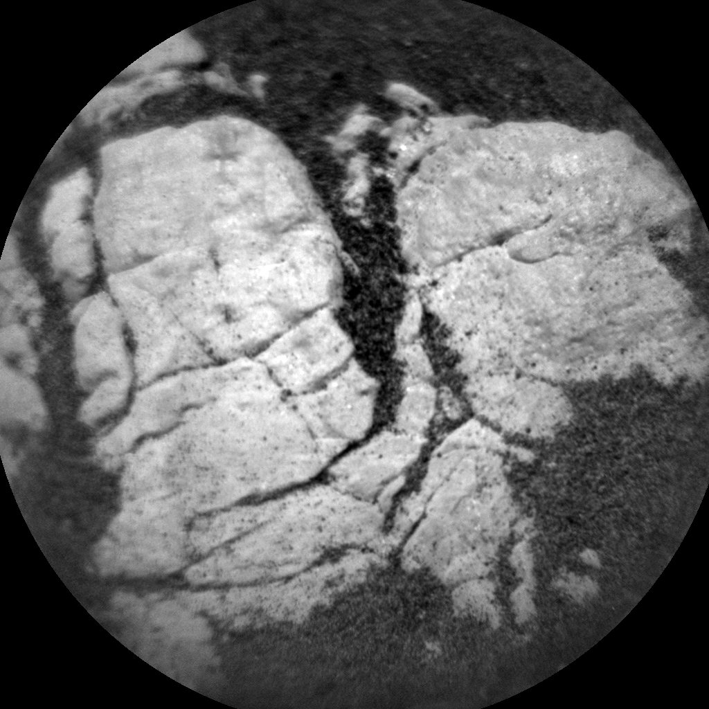Nasa's Mars rover Curiosity acquired this image using its Chemistry & Camera (ChemCam) on Sol 2403, at drive 1398, site number 75