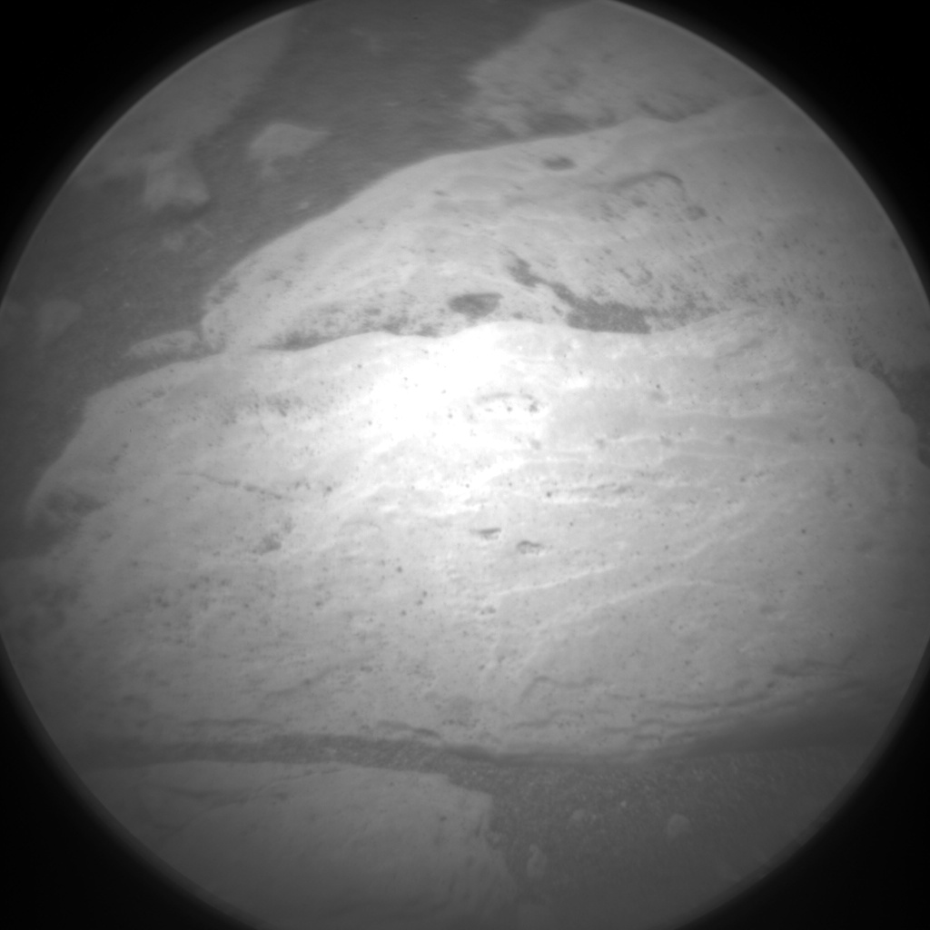 Nasa's Mars rover Curiosity acquired this image using its Chemistry & Camera (ChemCam) on Sol 2405, at drive 1398, site number 75