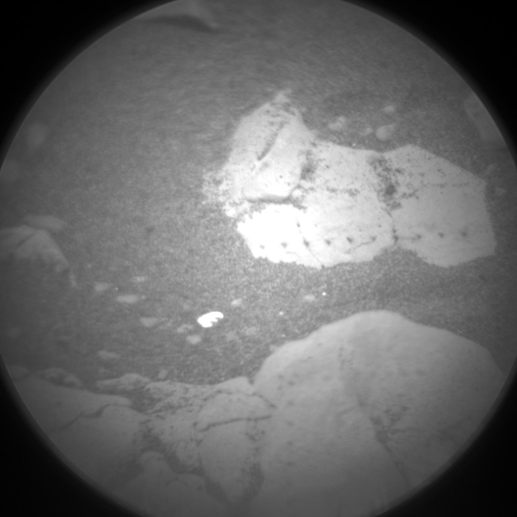 Nasa's Mars rover Curiosity acquired this image using its Chemistry & Camera (ChemCam) on Sol 2406, at drive 1398, site number 75
