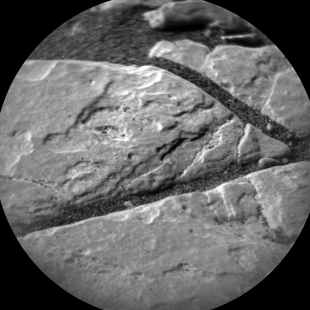Nasa's Mars rover Curiosity acquired this image using its Chemistry & Camera (ChemCam) on Sol 2407, at drive 1450, site number 75