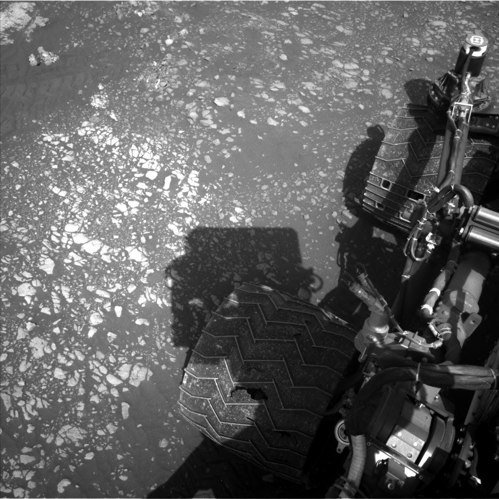 Nasa's Mars rover Curiosity acquired this image using its Left Navigation Camera on Sol 2408, at drive 1564, site number 75