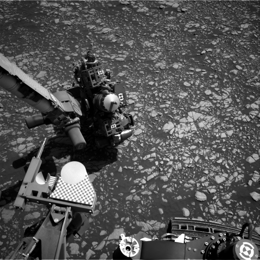 Nasa's Mars rover Curiosity acquired this image using its Right Navigation Camera on Sol 2408, at drive 1450, site number 75