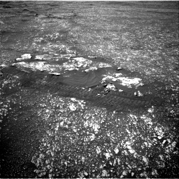 Nasa's Mars rover Curiosity acquired this image using its Right Navigation Camera on Sol 2408, at drive 1558, site number 75