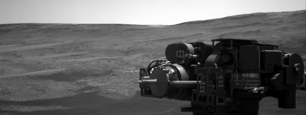 Nasa's Mars rover Curiosity acquired this image using its Right Navigation Camera on Sol 2409, at drive 1564, site number 75