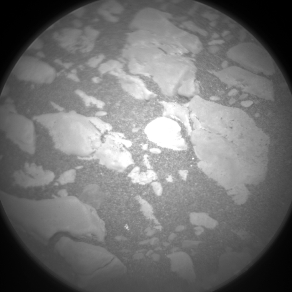 Nasa's Mars rover Curiosity acquired this image using its Chemistry & Camera (ChemCam) on Sol 2410, at drive 1564, site number 75