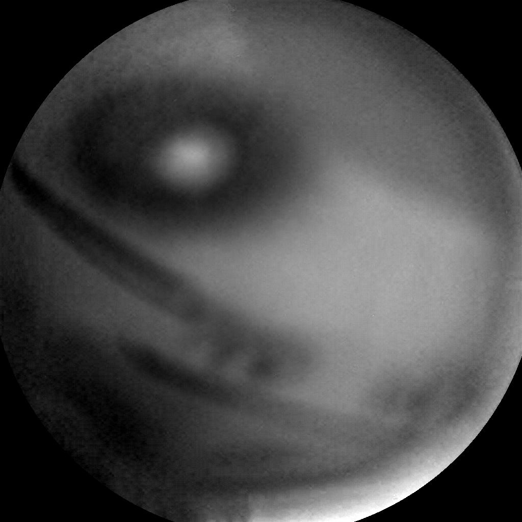 Nasa's Mars rover Curiosity acquired this image using its Chemistry & Camera (ChemCam) on Sol 2411, at drive 1564, site number 75