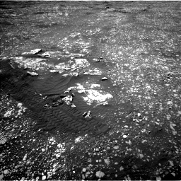 Nasa's Mars rover Curiosity acquired this image using its Left Navigation Camera on Sol 2412, at drive 1576, site number 75
