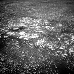 Nasa's Mars rover Curiosity acquired this image using its Left Navigation Camera on Sol 2412, at drive 1684, site number 75