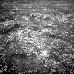 Nasa's Mars rover Curiosity acquired this image using its Left Navigation Camera on Sol 2412, at drive 1720, site number 75