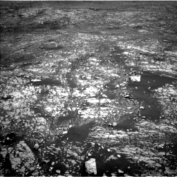 Nasa's Mars rover Curiosity acquired this image using its Left Navigation Camera on Sol 2412, at drive 1780, site number 75