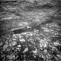 Nasa's Mars rover Curiosity acquired this image using its Left Navigation Camera on Sol 2412, at drive 1810, site number 75