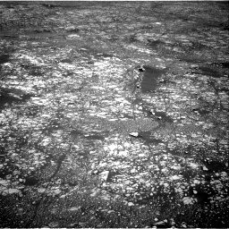 Nasa's Mars rover Curiosity acquired this image using its Right Navigation Camera on Sol 2412, at drive 1762, site number 75