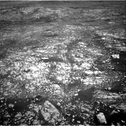 Nasa's Mars rover Curiosity acquired this image using its Right Navigation Camera on Sol 2412, at drive 1786, site number 75