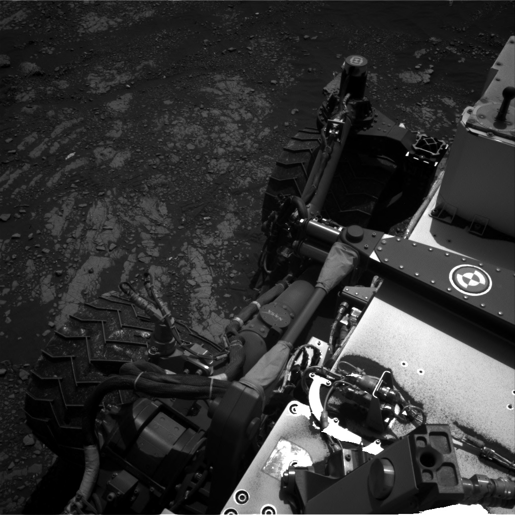 Nasa's Mars rover Curiosity acquired this image using its Right Navigation Camera on Sol 2412, at drive 1916, site number 75