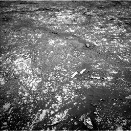 Nasa's Mars rover Curiosity acquired this image using its Left Navigation Camera on Sol 2413, at drive 1994, site number 75