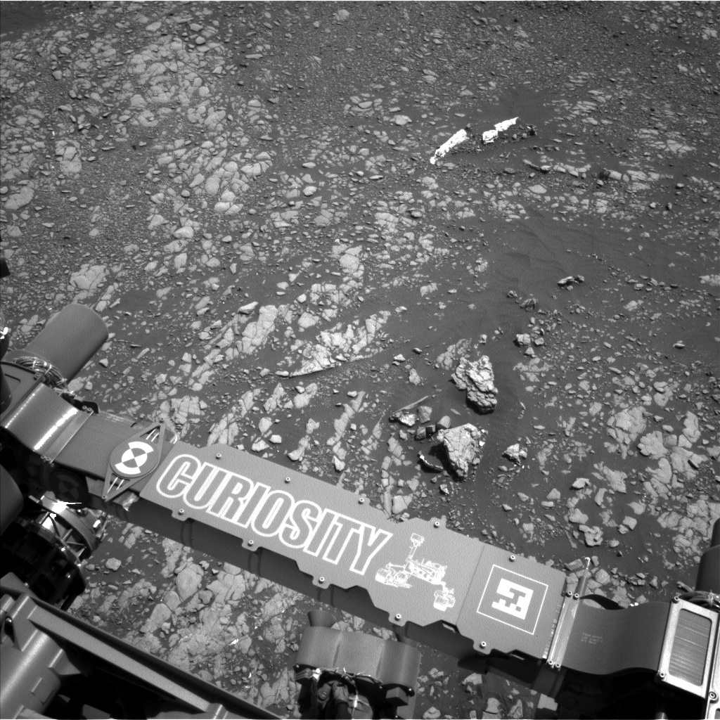 NASA's Mars rover Curiosity acquired this image using its Left Navigation Camera (Navcams) on Sol 2413
