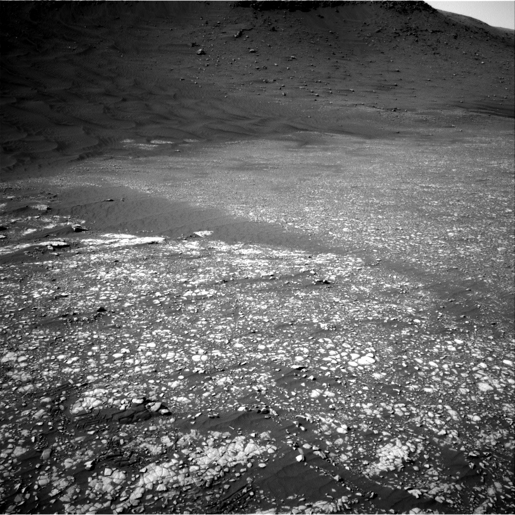 Nasa's Mars rover Curiosity acquired this image using its Right Navigation Camera on Sol 2413, at drive 2004, site number 75