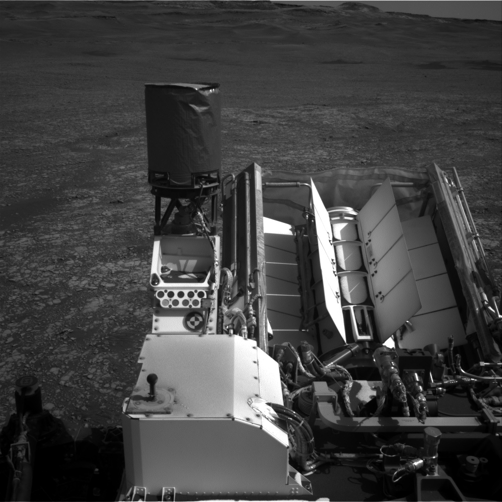 Nasa's Mars rover Curiosity acquired this image using its Right Navigation Camera on Sol 2414, at drive 2052, site number 75