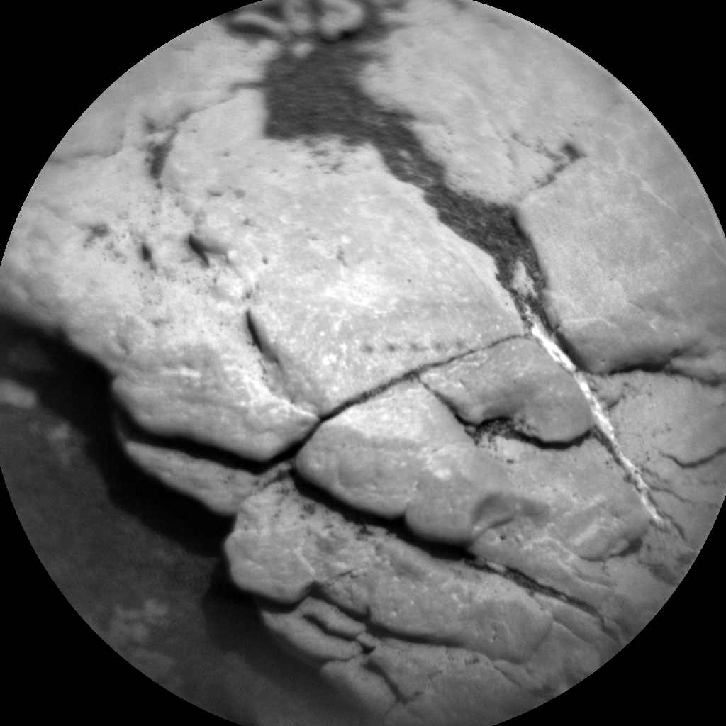 Nasa's Mars rover Curiosity acquired this image using its Chemistry & Camera (ChemCam) on Sol 2414, at drive 2004, site number 75