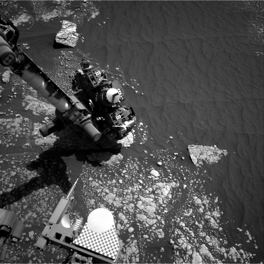 Nasa's Mars rover Curiosity acquired this image using its Right Navigation Camera on Sol 2415, at drive 2052, site number 75