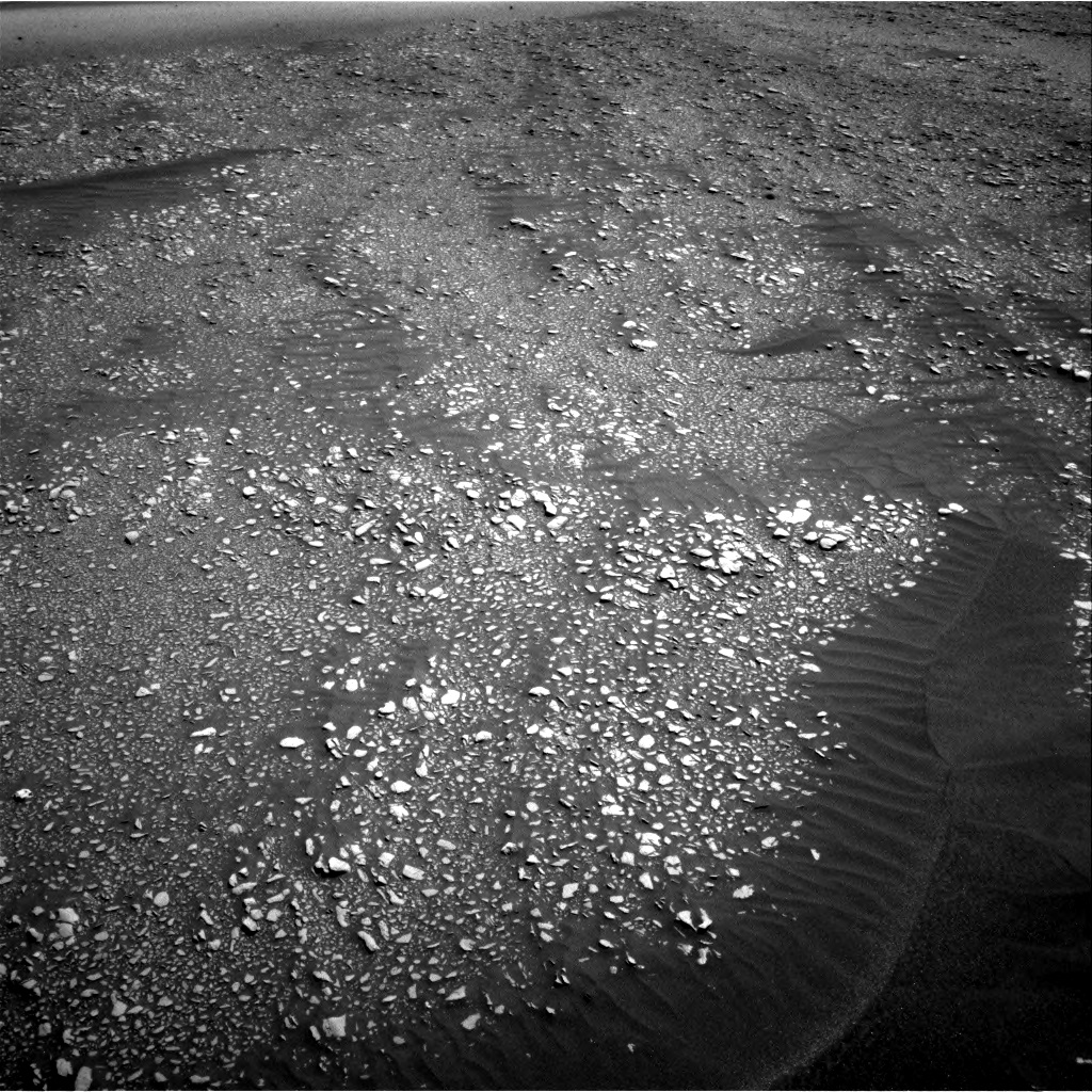 Nasa's Mars rover Curiosity acquired this image using its Right Navigation Camera on Sol 2416, at drive 2274, site number 75