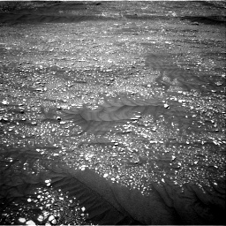 Nasa's Mars rover Curiosity acquired this image using its Right Navigation Camera on Sol 2416, at drive 2292, site number 75