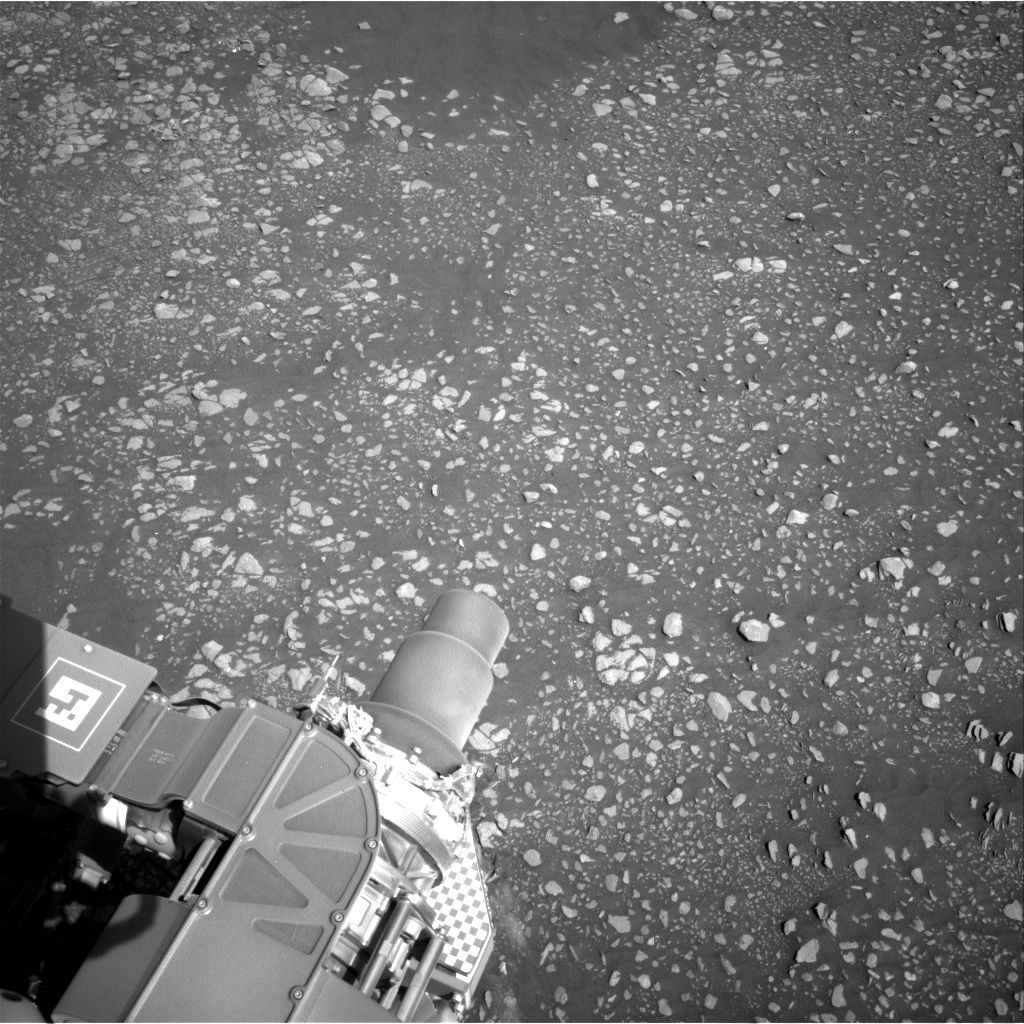 Nasa's Mars rover Curiosity acquired this image using its Right Navigation Camera on Sol 2416, at drive 2332, site number 75