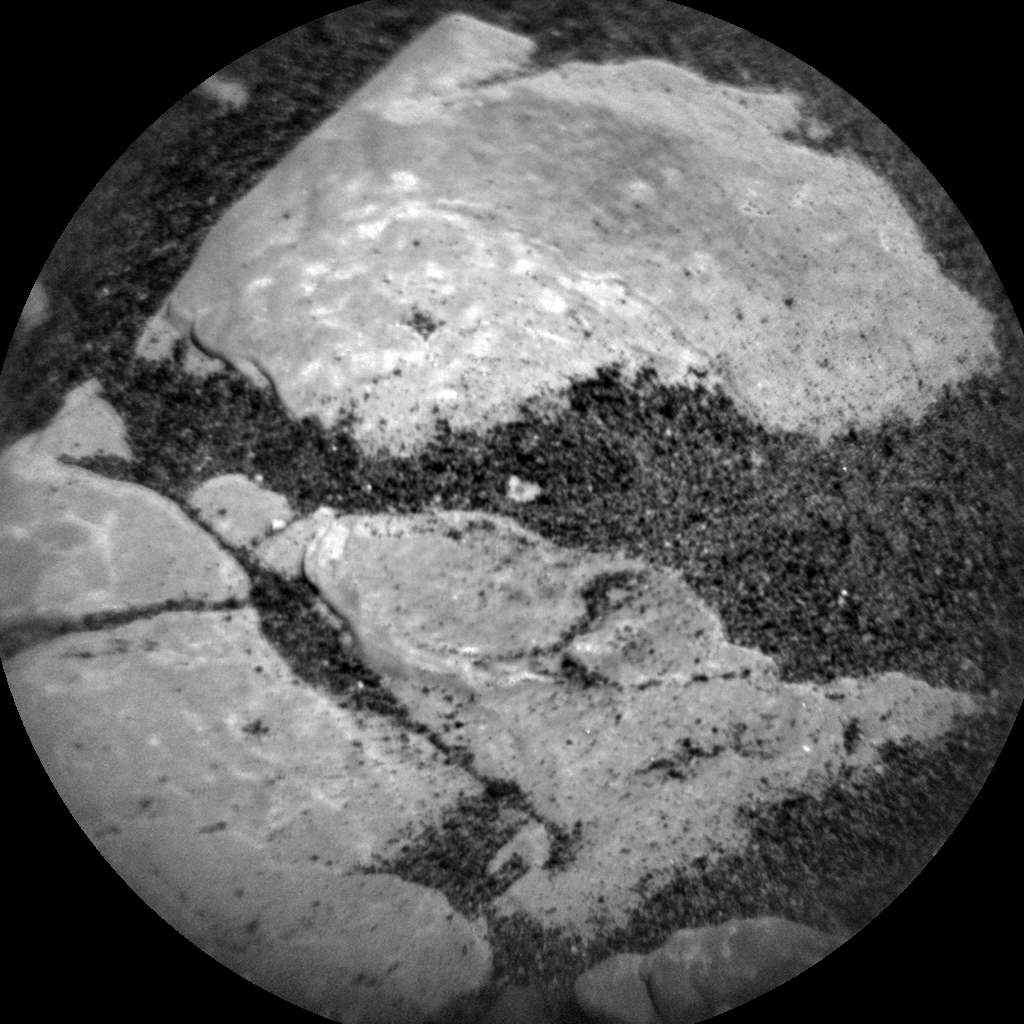 Nasa's Mars rover Curiosity acquired this image using its Chemistry & Camera (ChemCam) on Sol 2417, at drive 2332, site number 75