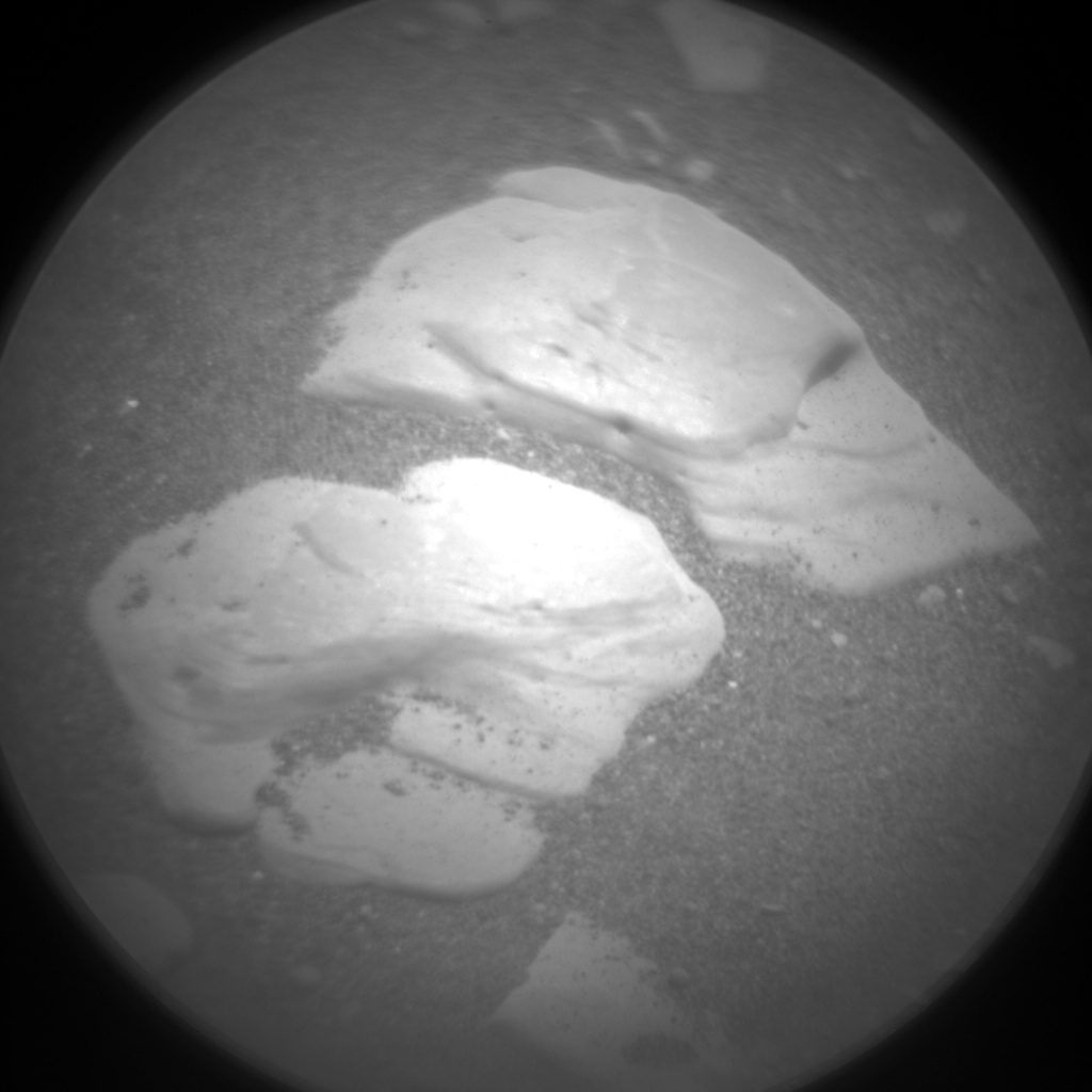 Nasa's Mars rover Curiosity acquired this image using its Chemistry & Camera (ChemCam) on Sol 2418, at drive 2332, site number 75