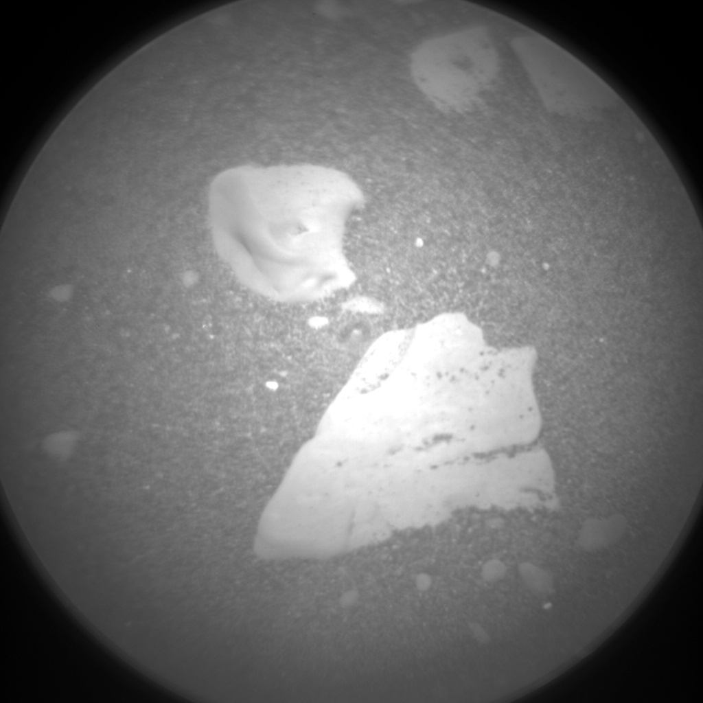Nasa's Mars rover Curiosity acquired this image using its Chemistry & Camera (ChemCam) on Sol 2419, at drive 2332, site number 75