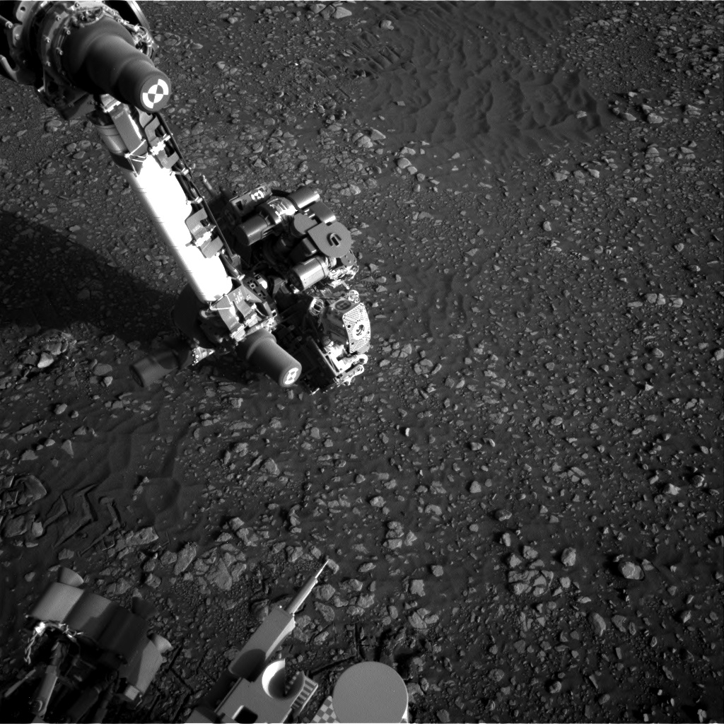 Nasa's Mars rover Curiosity acquired this image using its Right Navigation Camera on Sol 2419, at drive 2332, site number 75