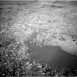 Nasa's Mars rover Curiosity acquired this image using its Left Navigation Camera on Sol 2420, at drive 2632, site number 75