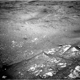 Nasa's Mars rover Curiosity acquired this image using its Left Navigation Camera on Sol 2420, at drive 2764, site number 75