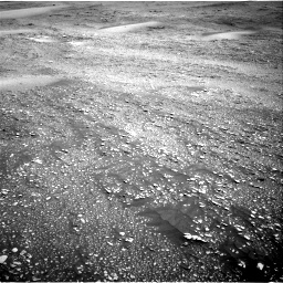 Nasa's Mars rover Curiosity acquired this image using its Right Navigation Camera on Sol 2420, at drive 2332, site number 75