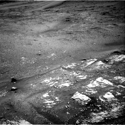 Nasa's Mars rover Curiosity acquired this image using its Right Navigation Camera on Sol 2420, at drive 2758, site number 75
