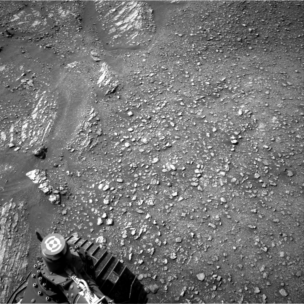 Nasa's Mars rover Curiosity acquired this image using its Right Navigation Camera on Sol 2420, at drive 2770, site number 75