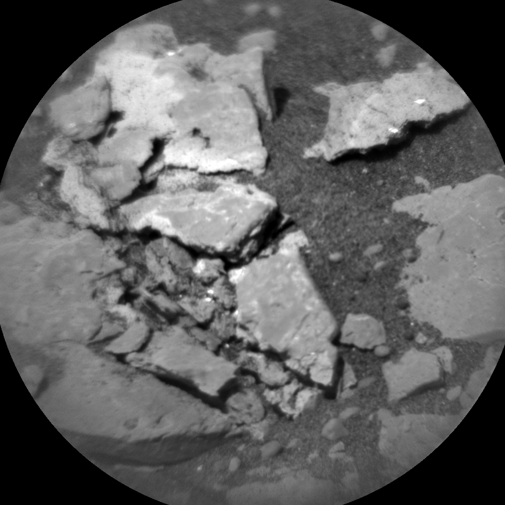 Nasa's Mars rover Curiosity acquired this image using its Chemistry & Camera (ChemCam) on Sol 2420, at drive 2332, site number 75