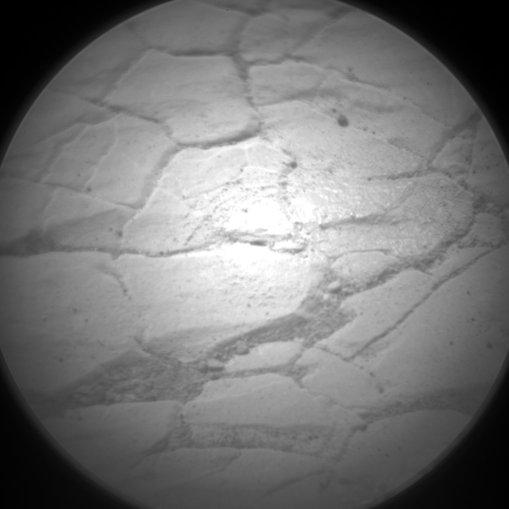 Nasa's Mars rover Curiosity acquired this image using its Chemistry & Camera (ChemCam) on Sol 2422, at drive 2770, site number 75