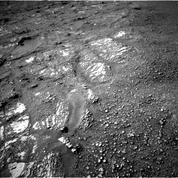 Nasa's Mars rover Curiosity acquired this image using its Left Navigation Camera on Sol 2422, at drive 2788, site number 75