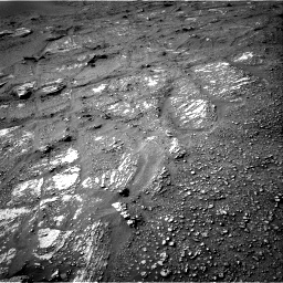 Nasa's Mars rover Curiosity acquired this image using its Right Navigation Camera on Sol 2422, at drive 2794, site number 75