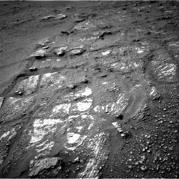 Nasa's Mars rover Curiosity acquired this image using its Right Navigation Camera on Sol 2422, at drive 2800, site number 75