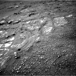 Nasa's Mars rover Curiosity acquired this image using its Right Navigation Camera on Sol 2422, at drive 2806, site number 75