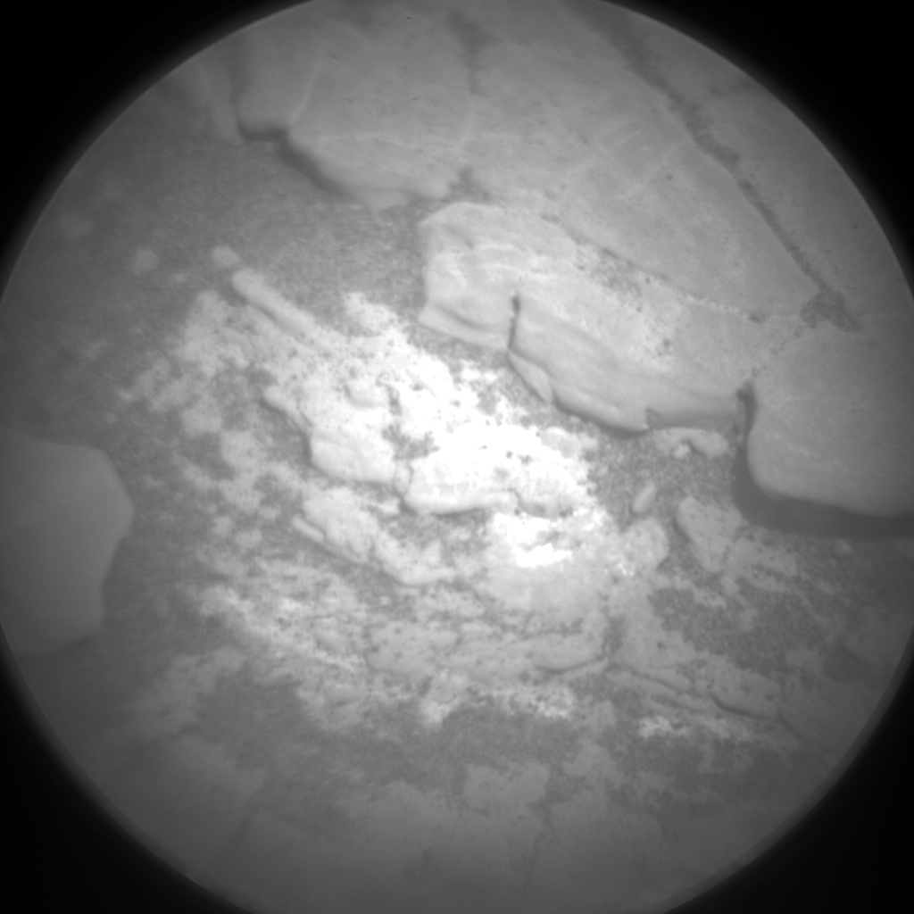 Nasa's Mars rover Curiosity acquired this image using its Chemistry & Camera (ChemCam) on Sol 2424, at drive 2860, site number 75