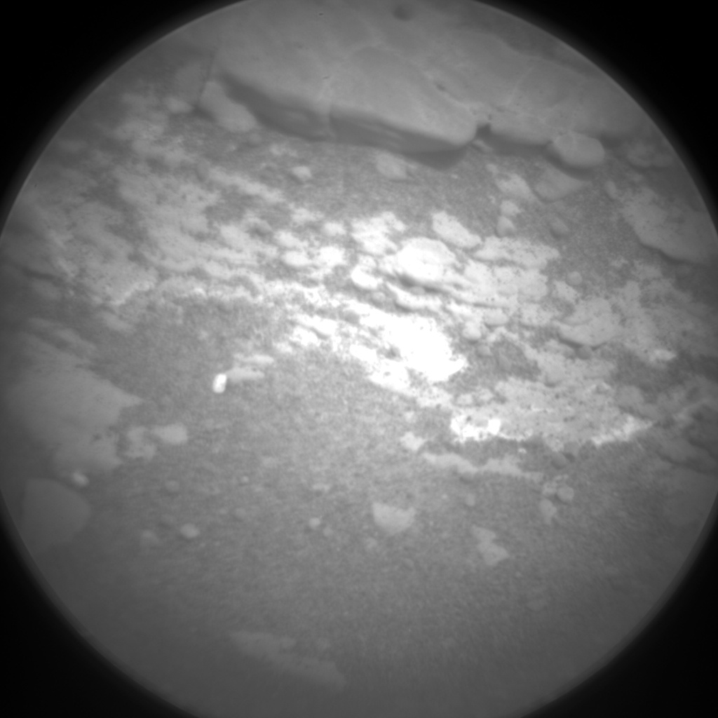 Nasa's Mars rover Curiosity acquired this image using its Chemistry & Camera (ChemCam) on Sol 2426, at drive 2860, site number 75