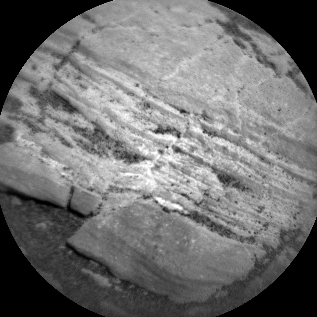 Nasa's Mars rover Curiosity acquired this image using its Chemistry & Camera (ChemCam) on Sol 2427, at drive 2860, site number 75