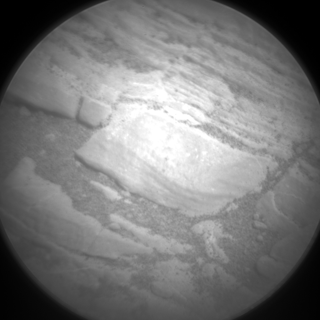 Nasa's Mars rover Curiosity acquired this image using its Chemistry & Camera (ChemCam) on Sol 2429, at drive 2860, site number 75