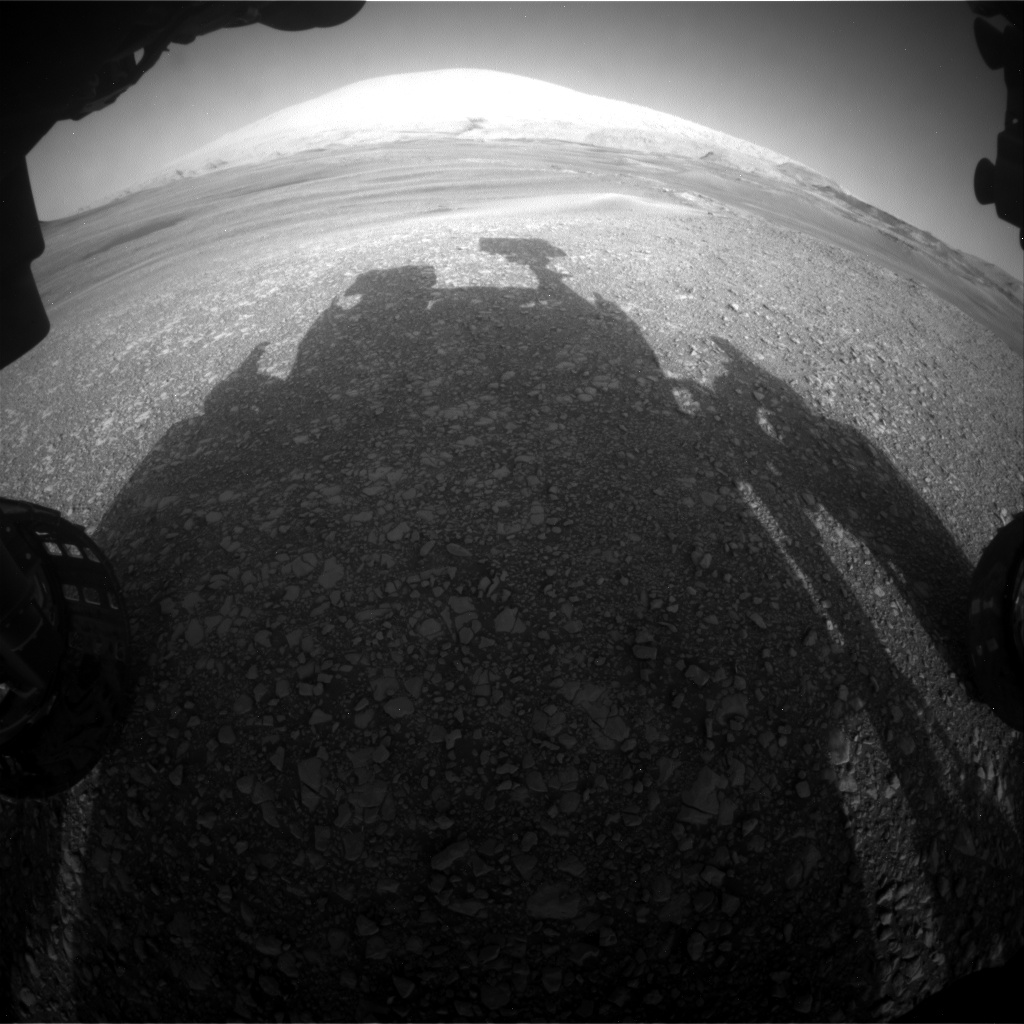 Nasa's Mars rover Curiosity acquired this image using its Front Hazard Avoidance Camera (Front Hazcam) on Sol 2429, at drive 0, site number 76